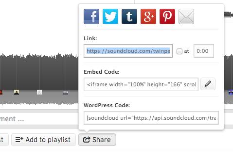 اشتراک گذاری و دانلود قطعهها در ساوندکلاود