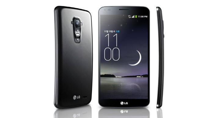 LG G Flex شما خودش را ترمیم میکند!