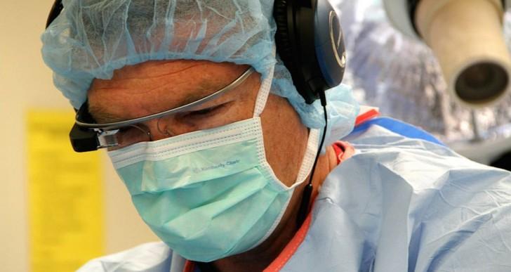 اولین جراحی مجازی با عینک گوگل
