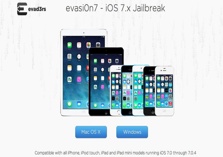 جیلبرک iOS 7، ارائه شد