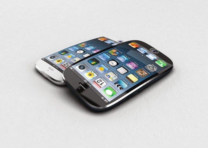 اپل٬ پتنت صفحه نمایش خمیده و لمسی را ثبت کرد