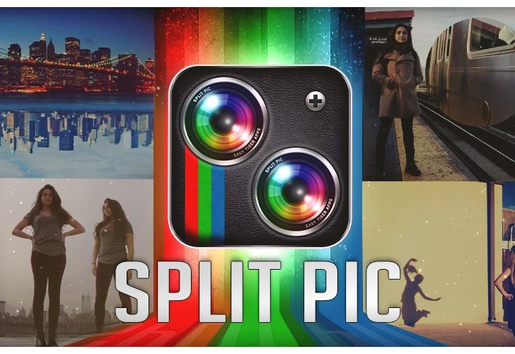با Split Pic عکسهای خلاقانهتری بگیرید!