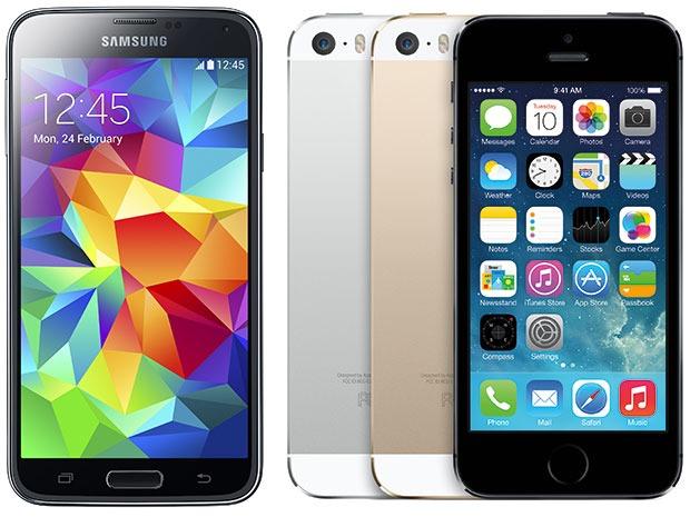 ۵ دلیل برای بهتر بودن: مقایسه آیفون ۵s و گلکسی S5