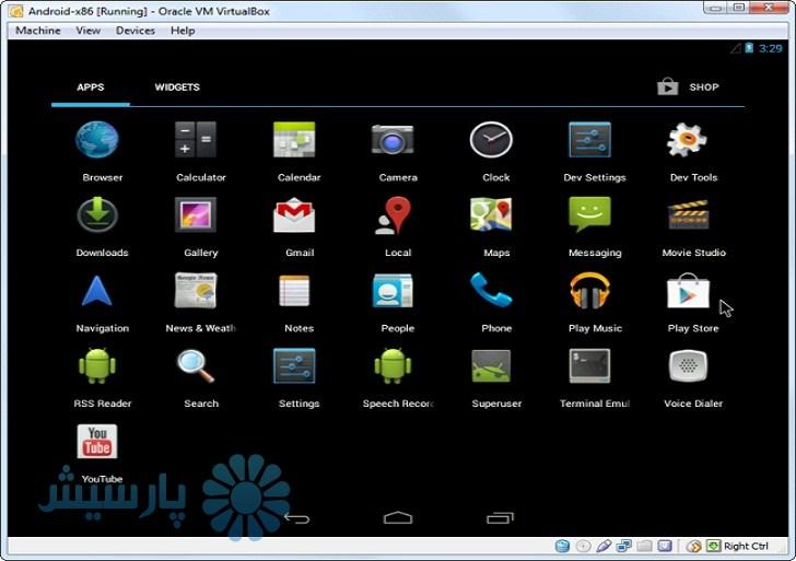 نرمافزار Android-x86