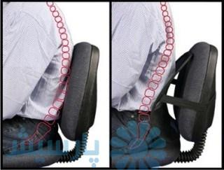 تاثیر پشتی صندلی بر ستون فقرات