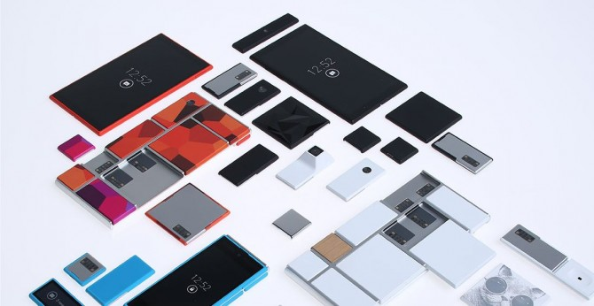 پروژه Ara گوگل: تلفن همراه تقسیمشونده
