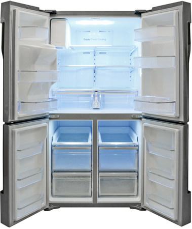 Samsung-RF32FMQDBSR-interior