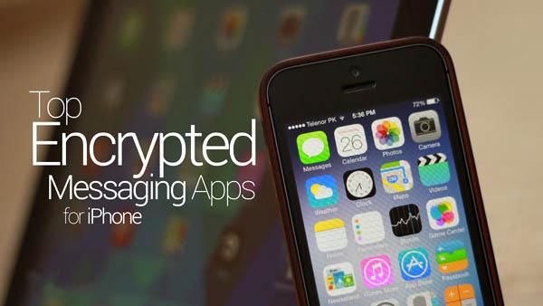 بهترین اپلیکیشن های رایگان ارسال پیام رمزنگاری شده برای آیفون