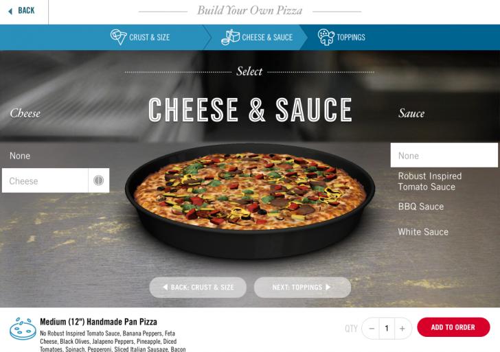 دومینو اپلیکیشن سفارش پیتزا را برای iPad عرضه کرد
