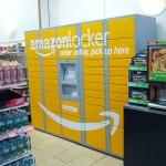 آمازون لاکر در یک سوپرمارکت واقع در منهتن