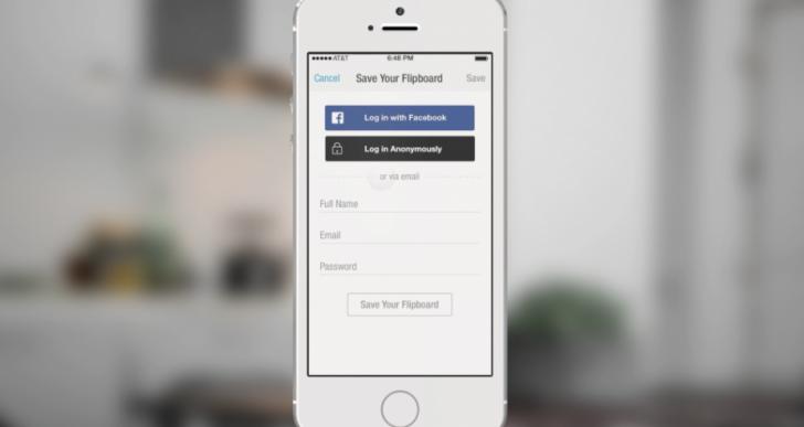 فیسبوک و ارتقای لاگین به عنوان فرد ناشناس