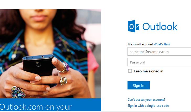 ظاهر جدید Outlook.com و شباهت آن به جیمیل