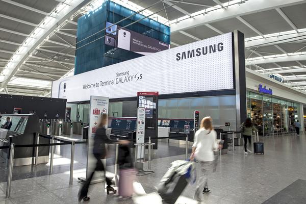 بازاریابی به سبک سامسونگ: تغییر برند ترمینال ۵ هیترو لندن