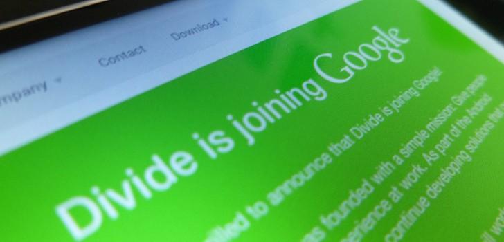 گوگل Divide را خرید