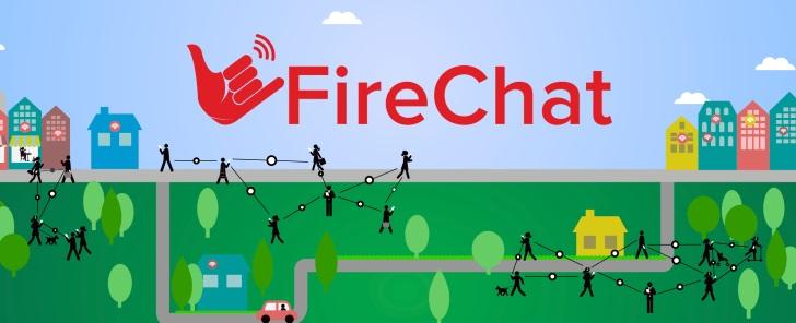 فایرچت شبکه ارتباطی بینیاز به اینترنت