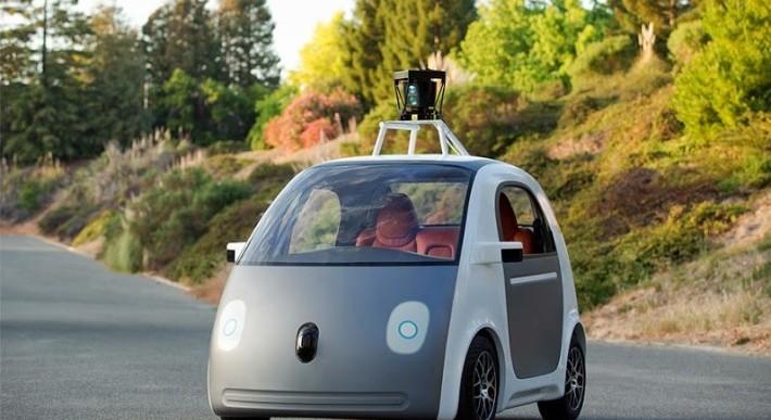 گوگل خودرو بدون راننده می سازد