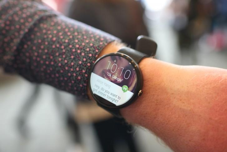نگاهی به گجت پوشیدنی موتو ۳۶۰ در گوگل I/O