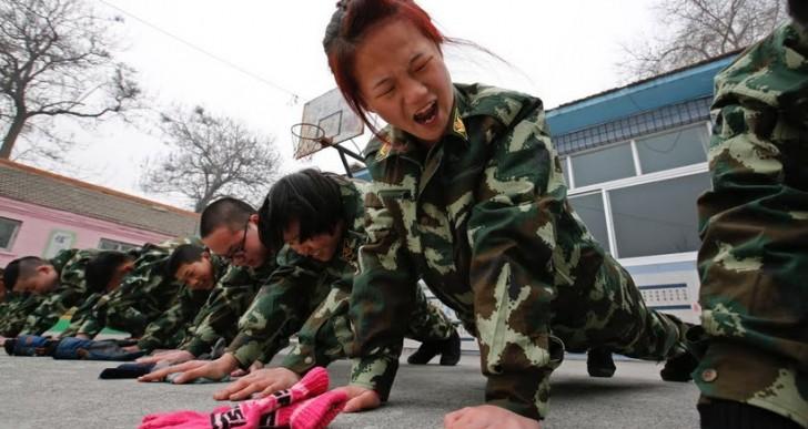 کمپ ترک اعتیاد به اینترنت، در چین