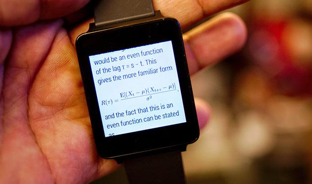 ویکی پدیا بر روی ساعت اندرویدی شما