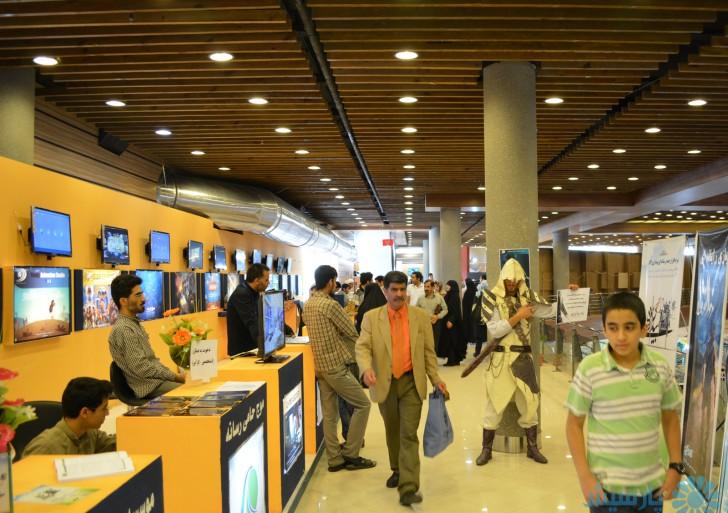 گزارشی از دومین نمایشگاه رسانه های دیجیتال انقلاب اسلامی
