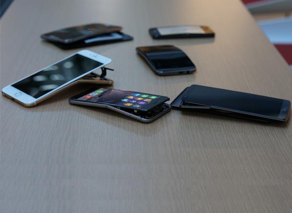 bent-smartphones