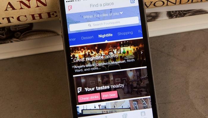 نسل جدید Foursquare