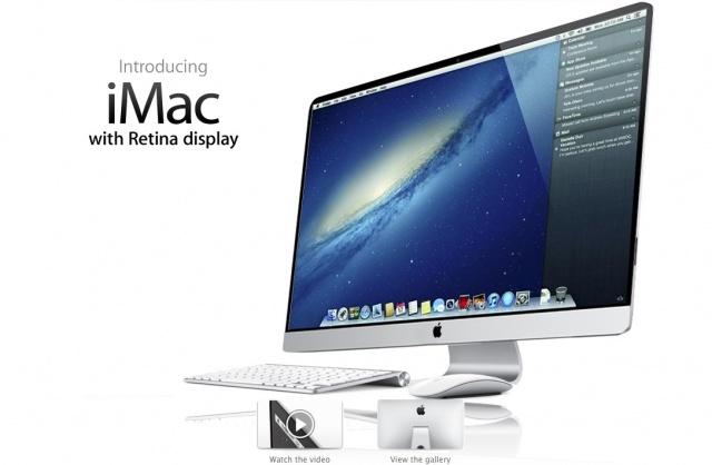 iMac با صفحه نمایش رتینا به بازار خواهد آمد