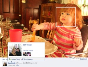 تشخیص چهرهی فیس بوک
