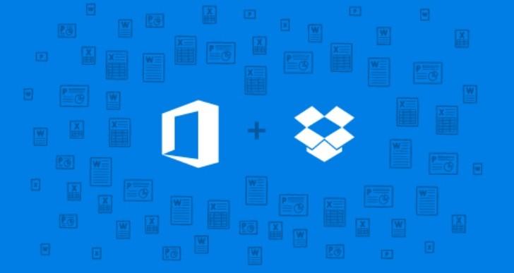 همکاری جدید مایکروسافت آفیس و دراپباکس