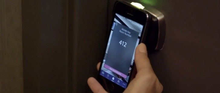 با SPG تلفن هوشمند شما کلید اتاق هتل خواهد شد