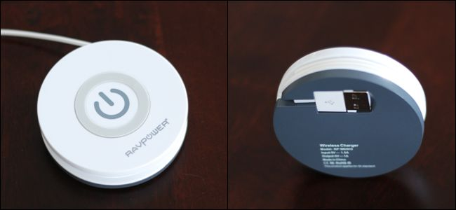 travel Qi charger