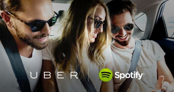 انتقادات پیرامون همکاری دو شرکت Uber و Spotify