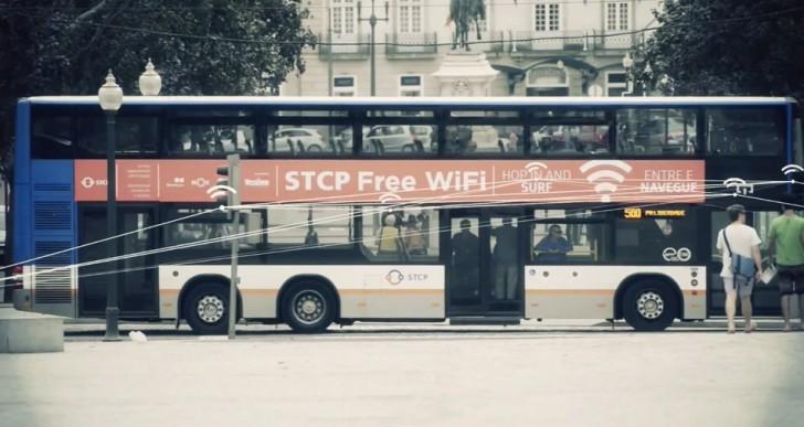 اتوبوس و تاکسی های پرتغال به اینترنت متصل شدند