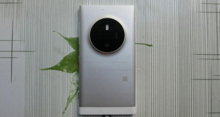 عکس های درز کرده لومیا جدید با دوربین بزرگ