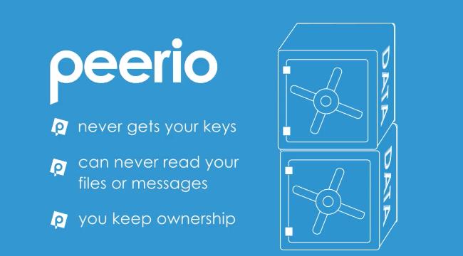 Peerio پیام رسان و اشتراک گذار رمزگذاری شده