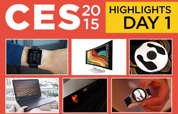 بهترین محصولات معرفی شده در روز اول CES 2015