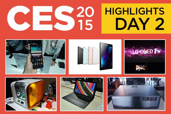 بهترین محصولات معرفی شده در روز دوم CES 2015