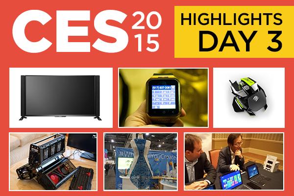 بهترین محصولات معرفی شده در روز سوم CES 2015