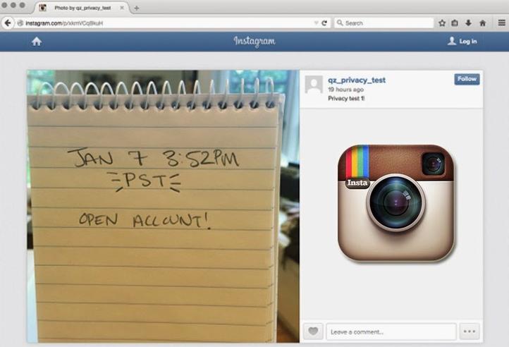 اینستاگرام و برملا سازی عکس های خصوصی