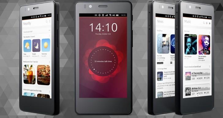اولین گوشی با سیستم عامل اوبونتو عرضه می گردد