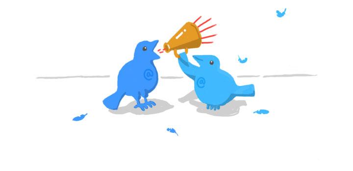 از همه کاربران توییتر می توانید پیام خصوصی بگیرید