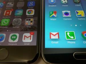 مقایسه گلکسی S6 و آی فون 6