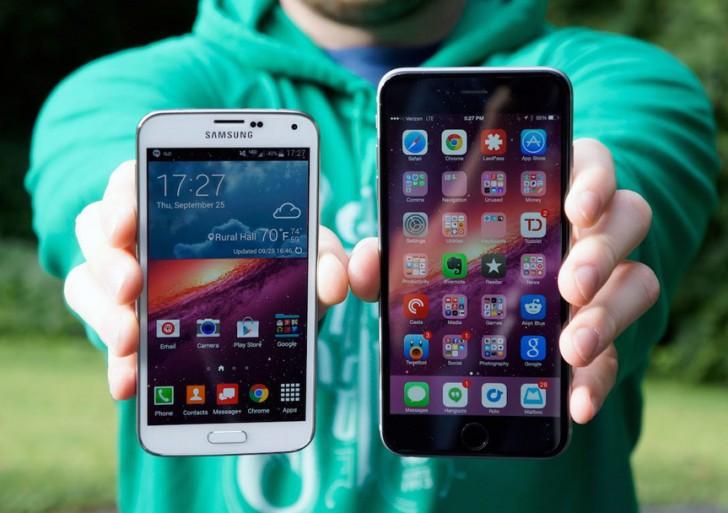 مقایسه گلکسی S6 و آی فون ۶: اپل برای شکست اپل
