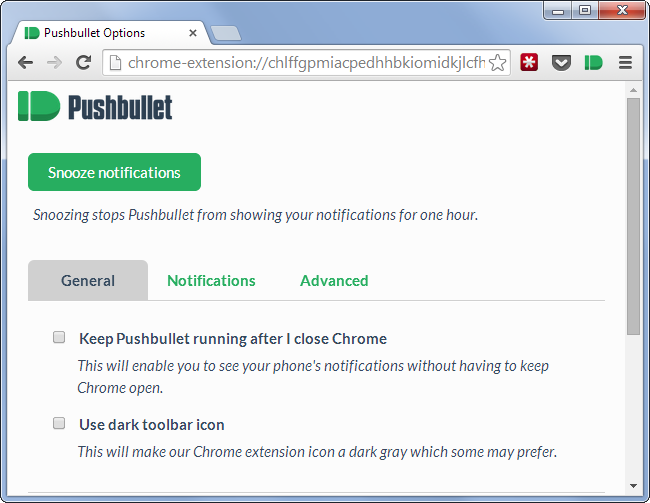 chrome-pushbullet-settings