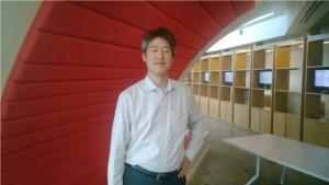 پیتر لی، مدیر بخش تحقیقات مایکروسافت در مقر جدید در انگلیس