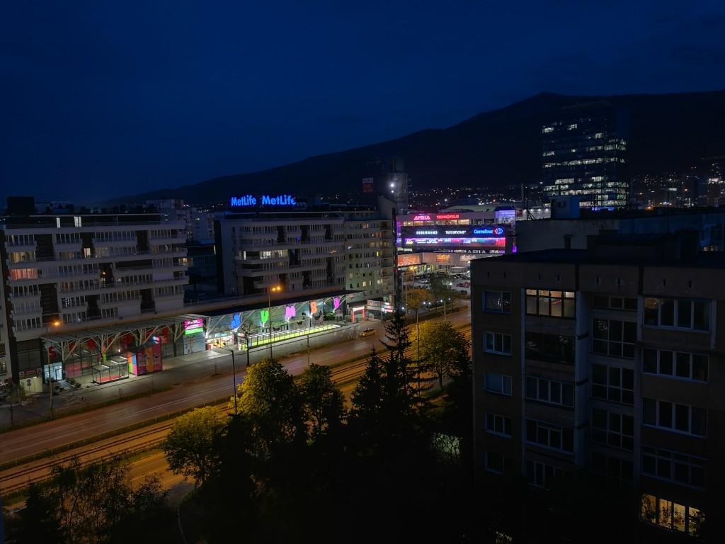 عکس در شب در حالت Night Shot بعد از 17 ثانیه