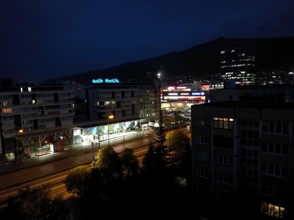 عکس در شب در حالت استاندارد