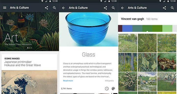با ابزار جدید گوگل شما یک کارشناس تاریخ و هنر می شوید