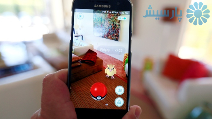 Pokemon augmented reality