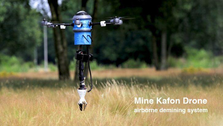 Mine Kafon Drone: پهپاد مین یاب